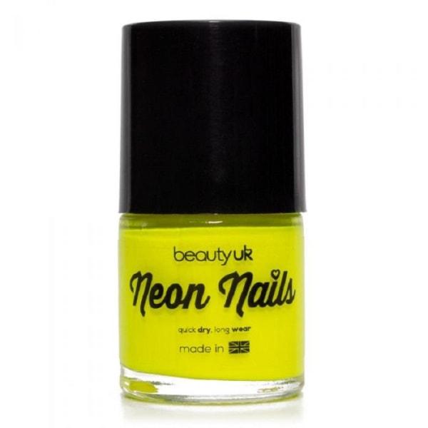 Beauty UK Neon Nail Polish Yellow
