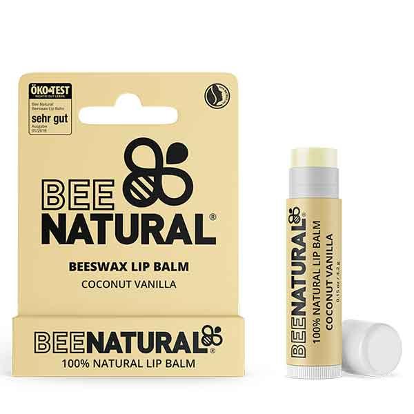 BEE NATURAL Lip Balm Coconut Vanilla