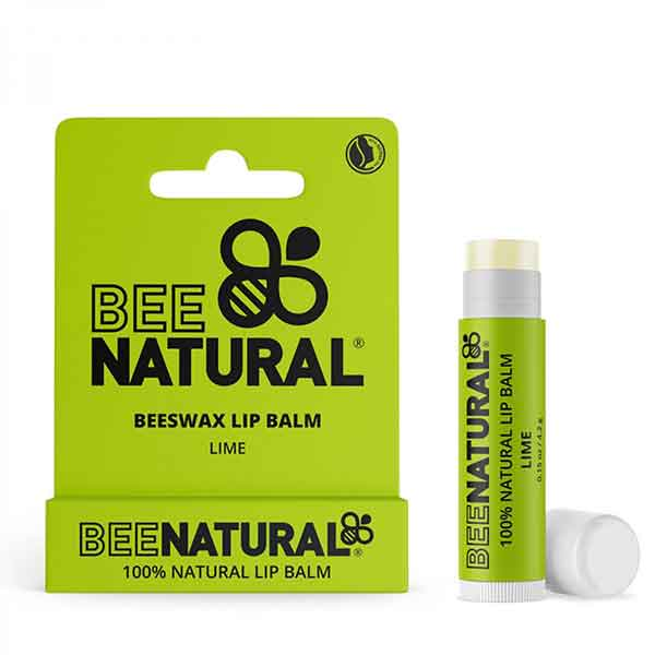 BEE NATURAL Lip Balm Lime