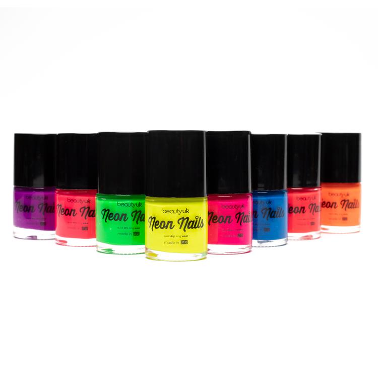 Beauty UK Neon Nail Polish