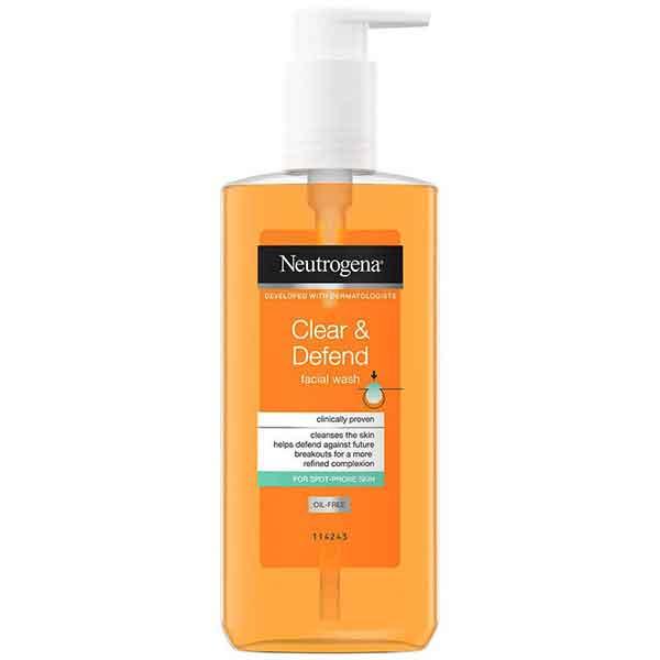 Neutrogena Clear & Defend Facial Wash