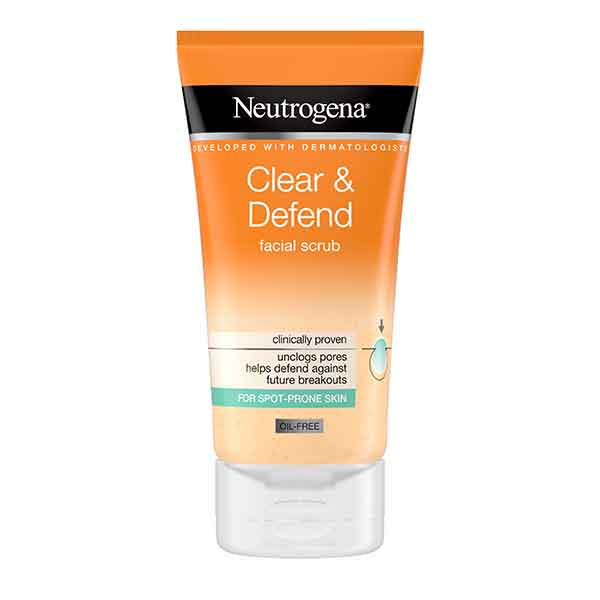 Neutrogena Clear & Defend Facial Scrub