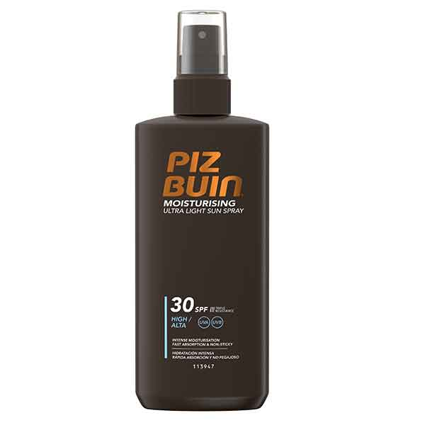 Piz Buin Moisturising Ultra Light Sun Spray SPF 30