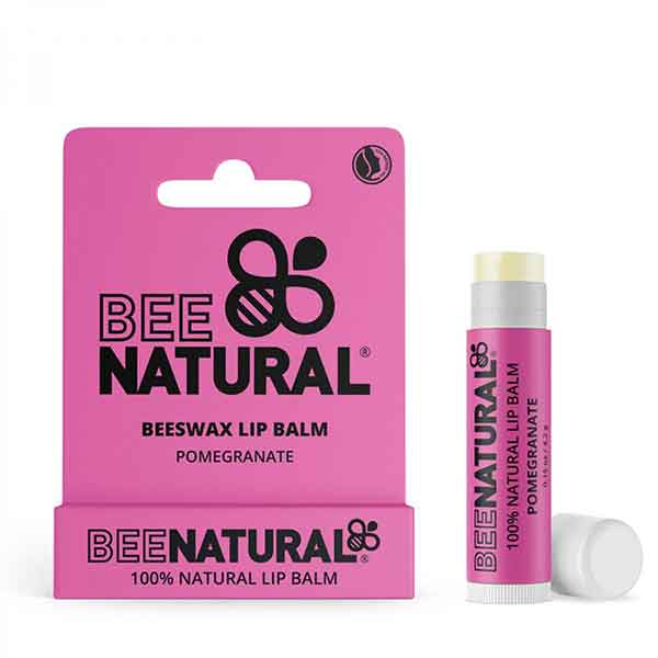BEE NATURAL Lip Balm Pomegranate