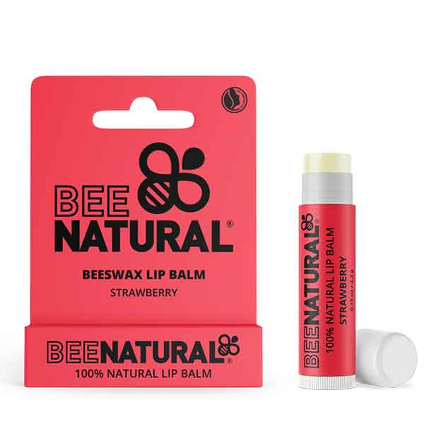 BEE NATURAL Lip Balm Strawberry
