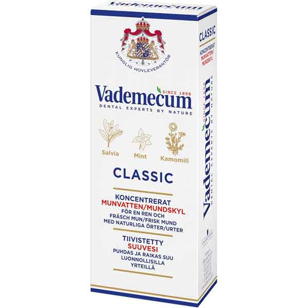 Vademecum Classic Koncentrerat Munvatten 75 ml