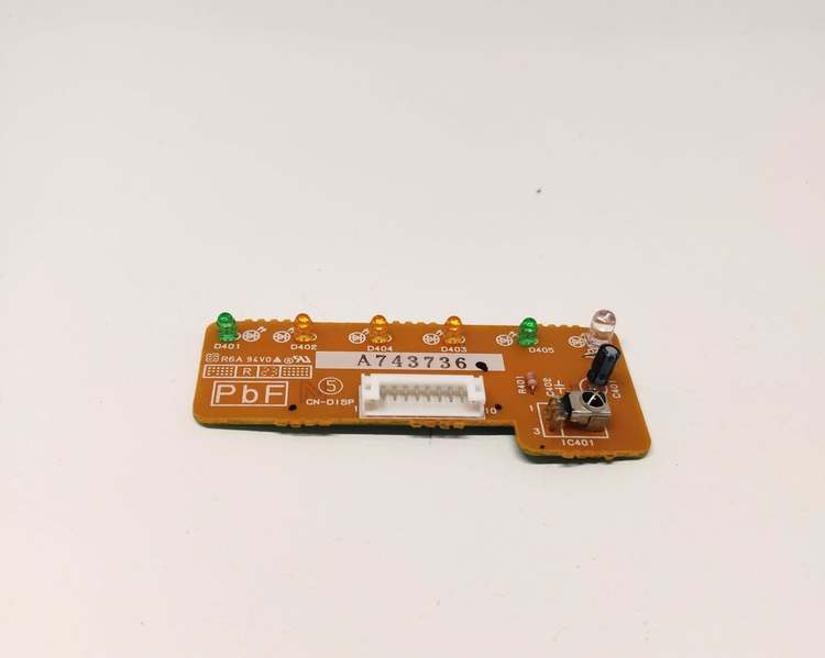 Display PCB with IR Receiver without cover (A743736)