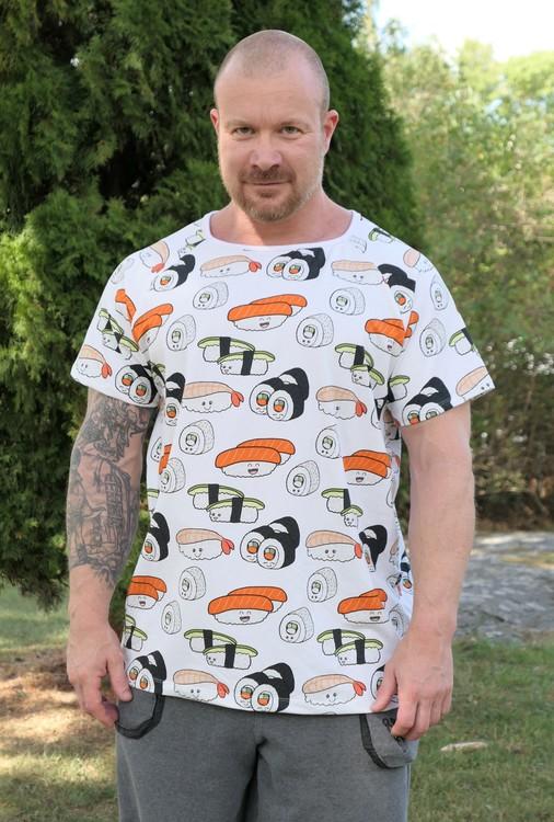 T-shirt vuxen herr