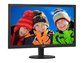 "Philips V-line 273V5LHSB 27"" 1920 x 1080 VGA (HD-15) HDMI 60Hz"