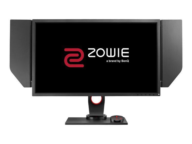 """BenQ ZOWIE XL Series XL2740 27"""" 1920 x 1080 DVI HDMI DisplayPort 240Hz Pivot skärm"""