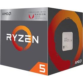 AMD CPU Ryzen 5 1600 3.2GHz 6 kerner AM4