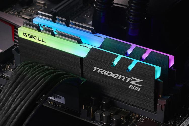 G.Skill TridentZ RGB Series DDR4 16GB kit 3000MHz CL15