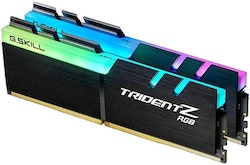 G.Skill TridentZ RGB Series DDR4 16GB kit 3000MHz CL16