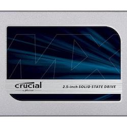 "Crucial SSD MX500 250GB 2.5"" SATA-600"