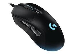 Logitech Gaming Mouse G403 Prodigy Optisk Kabling Svart