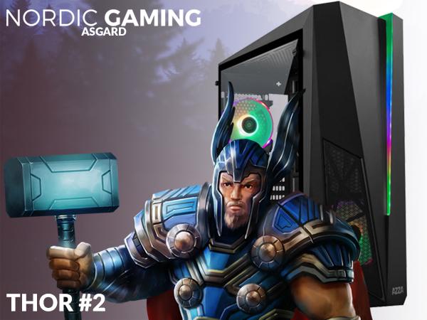 Nordic Gaming Asgard Thor# 1 i5-9600K 16GB 500GB RTX 2060 W10 - dxtech