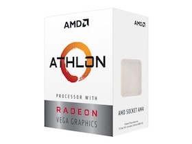 AMD Athlon 240GE (2x 3,5 GHz) Radeon Vega 3 Grafik, Sockel AM4
