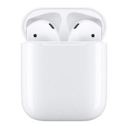 Apple AirPods Wireless Charging Case trådlösa hörlurar med mikrofon
