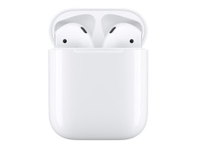Apple AirPods Wireless Charging Case trådlösa hörlurar med mikrofon