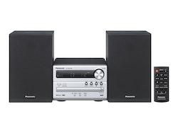 Panasonic SC-PM250 - Mikrosystem - 20 Watt (Total) - silver