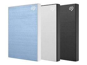 Seagate Backup Slim Harddisk STHN1000402 1TB USB 3.0 ljusblå