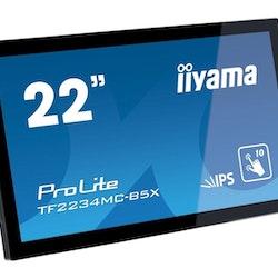 """iiyama G-MASTER Black Hawk GB2730HSU-B1 27 """"1920 x 1080 VGA (HD-15) HDMI DisplayPort 75Hz Pivot Skärm"""
