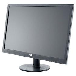 """AOC g2460Fq 24"""" 1920 x 1080 DVI VGA (HD-15) HDMI DisplayPort 144Hz"""