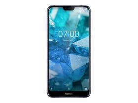 """Nokia 7.1, 14,8 cm (5.84""""), 2280 x 1080 pixlar, 3 GB, 32 GB, 12 MP, Blå"""