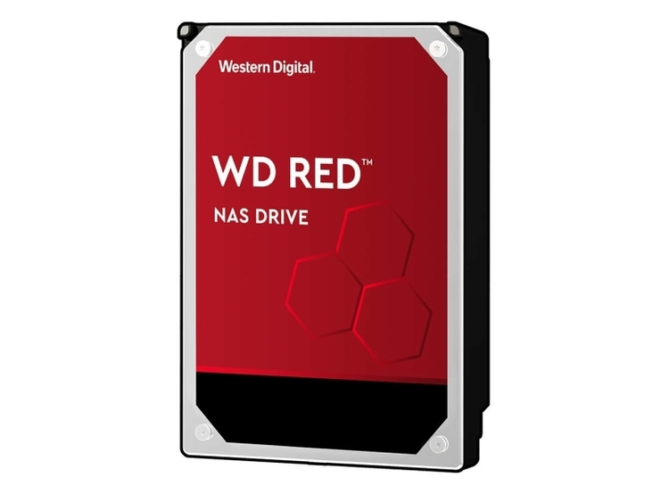 "WD Red NAS Hard Drive Harddisk WD60EFAX 6TB 3.5"" SATA-600 5400rpm"