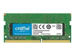 Crucial DDR4 16GB 2666MHz CL19 ECC SO-DIMM 260-PIN