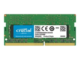 Crucial DDR4 16GB 2666MHz CL19 ECC SO-DIMM 260-PIN