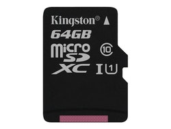 Kingston Canvas Select microSDXC 64GB UHS-I U1 / Class10