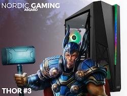 Nordic Gaming Asgard Thor #3.1 - i9-9900K 16GB 500GB RTX 2080 Super W10P