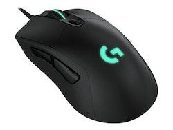 Logitech Gaming Mouse G403 HERO Optisk Kabling Svart