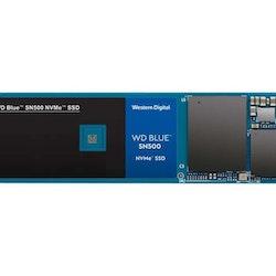 WD Blue SN500 NVMe SSD SSD WDS500G1B0C 500GB M.2 PCI Express 3.0 x2 (NVMe)