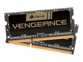 CORSAIR Vengeance DDR3 16GB kit 1600MHz CL10 SO-DIMM 204-PIN