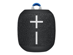 Ultimate Ears Wonderboom 2, bärbar trådlös Bluetooth-högtalare, Svart