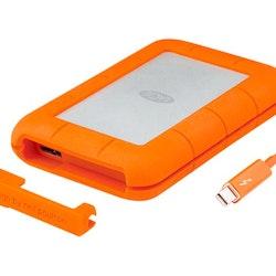 LaCie Rugged Mini Harddisk 4TB USB 3.0 5400rpm