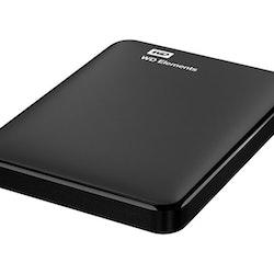 WD Elements Portable Harddisk WDBU6Y0015BBK 1.5TB USB 3.0