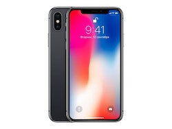 Apple iPhone X 256GB Grå