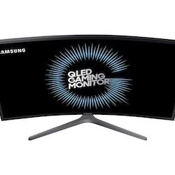 """Samsung CHG7 Series C27HG70QQU 27"""" 2560 x 1440 HDMI DisplayPort 144Hz Pivot skärm"""