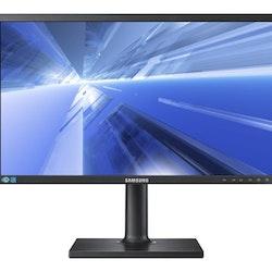"""Samsung SE450 Series S24E450B 24"""" 1920 x 1080 DVI VGA (HD-15) 60Hz Pivot skärm"""