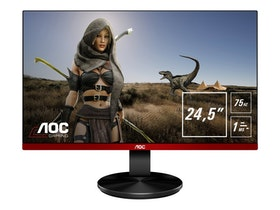 "AOC Gaming G2590VXQ 24.5"" 1920 x 1080 VGA (HD-15) HDMI DisplayPort 75Hz Pivot skärm"
