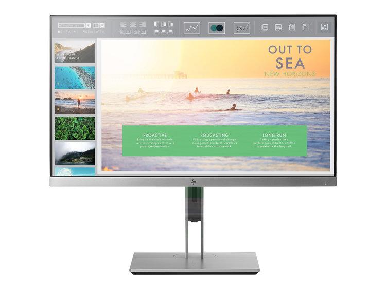"HP EliteDisplay E233 23"" 1920 x 1080 VGA (HD-15) HDMI DisplayPort 60Hz Pivot skärm"