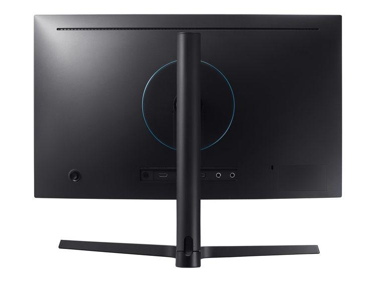 """Samsung CFG7 Series C27FG73FQU 27"""" 1920 x 1080 HDMI DisplayPort 144Hz Pivot skärm"""