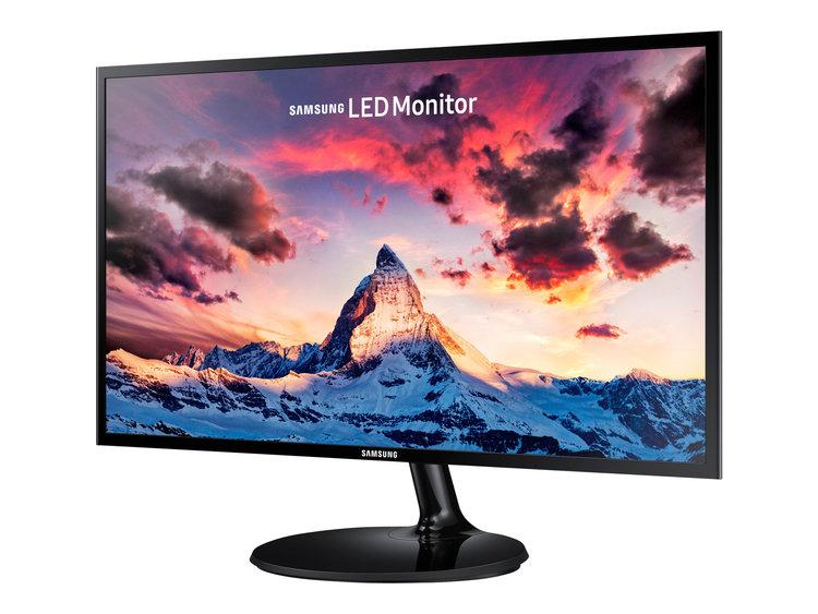 """Samsung SF350 Series S24F350FHU 24"""" 1920 x 1080 VGA (HD-15) HDMI 60Hz"""