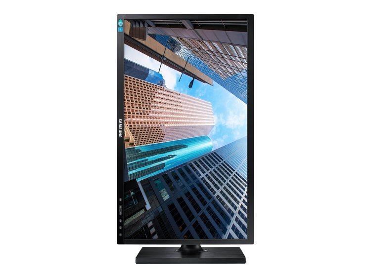 "Samsung SE450 Series S24E450BL 23.6"" 1920 x 1080 DVI VGA (HD-15) 60Hz Pivot skärm"