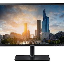 """Samsung SH65 Series S27H650FDU 27"""" 1920 x 1080 VGAHDMI DisplayPort 60Hz Pivot skärm"""