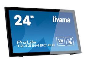 """Iiyama ProLite T2435MSC-B2 24"""" 1920 x 1080 DVI HDMI DisplayPort"""