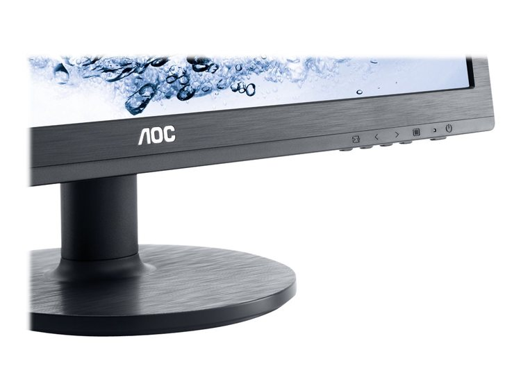 "AOC Value e2460Sh 24"" 1920 x 1080 DVI VGA (HD-15) HDMI 60Hz"